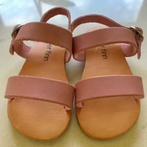 Piper Finn Pink Leather Sandals 7